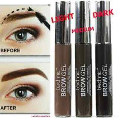 Technic Brow Gel Eyebrow Shaping Gel 8ml- Dark  Brown