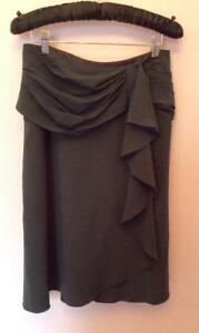 TEMPERLEY-VERY-DEEP-GREEN-WRAP-WOOL-SKIRT-WITH-SILK-LINING-SIZE-8