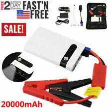 20000mAh 400A Car Jump Starter Auto Battery Booster Power Pack w/ Clamp Portable