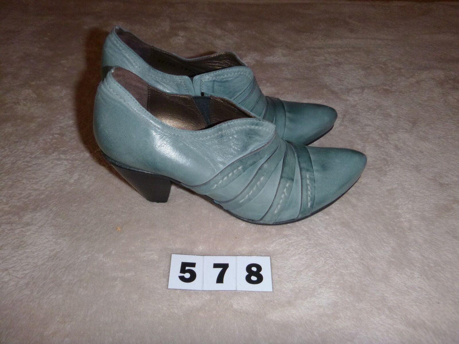 (578) Fidji Damen-Halbschuh Pumps Gr 36,5 36,5 36,5 Hellblau 1e5c2c