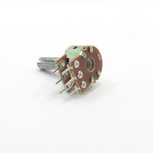 Mono//estéreo Potenciómetro Volumen Mezclador de Ohm Lineal B tono Lin