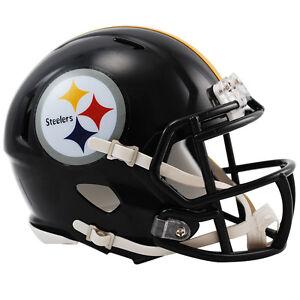Pittsburgh-Steelers-Riddell-NFL-Mini-Speed-Football-Helmet