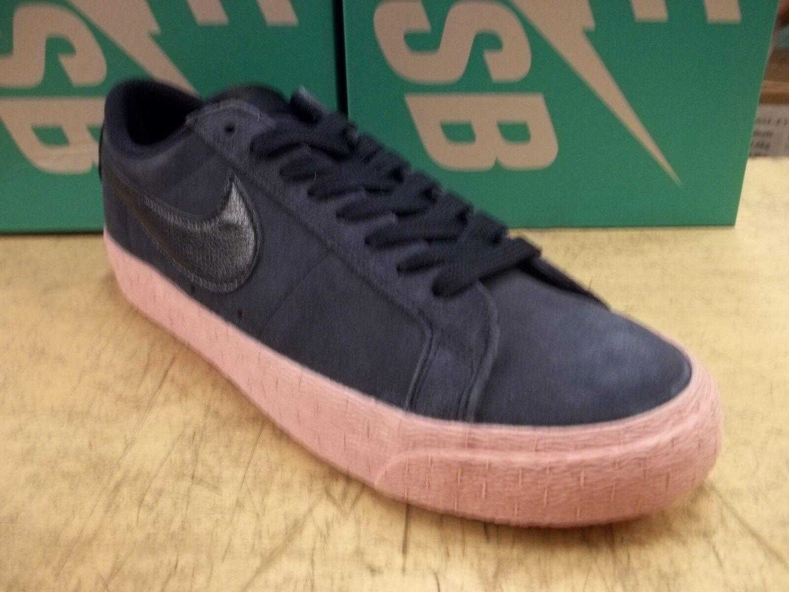 5043397e7280 Nike SB Zoom Blazer Low Skate Shoe Obsidian Bubble Gum 864347 402 ...