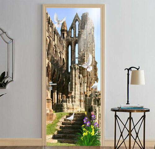 3D Building 522 Wall Stickers Vinyl Murals Wall Print Deco AJSTORE UK Kyra
