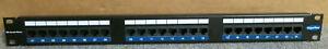 Brand-Rex-GPCPNLU-24002-GigaPlus-24-Port-RJ45-19-034-1U-RACK-MOUNT-Cat5e-Pannello-P