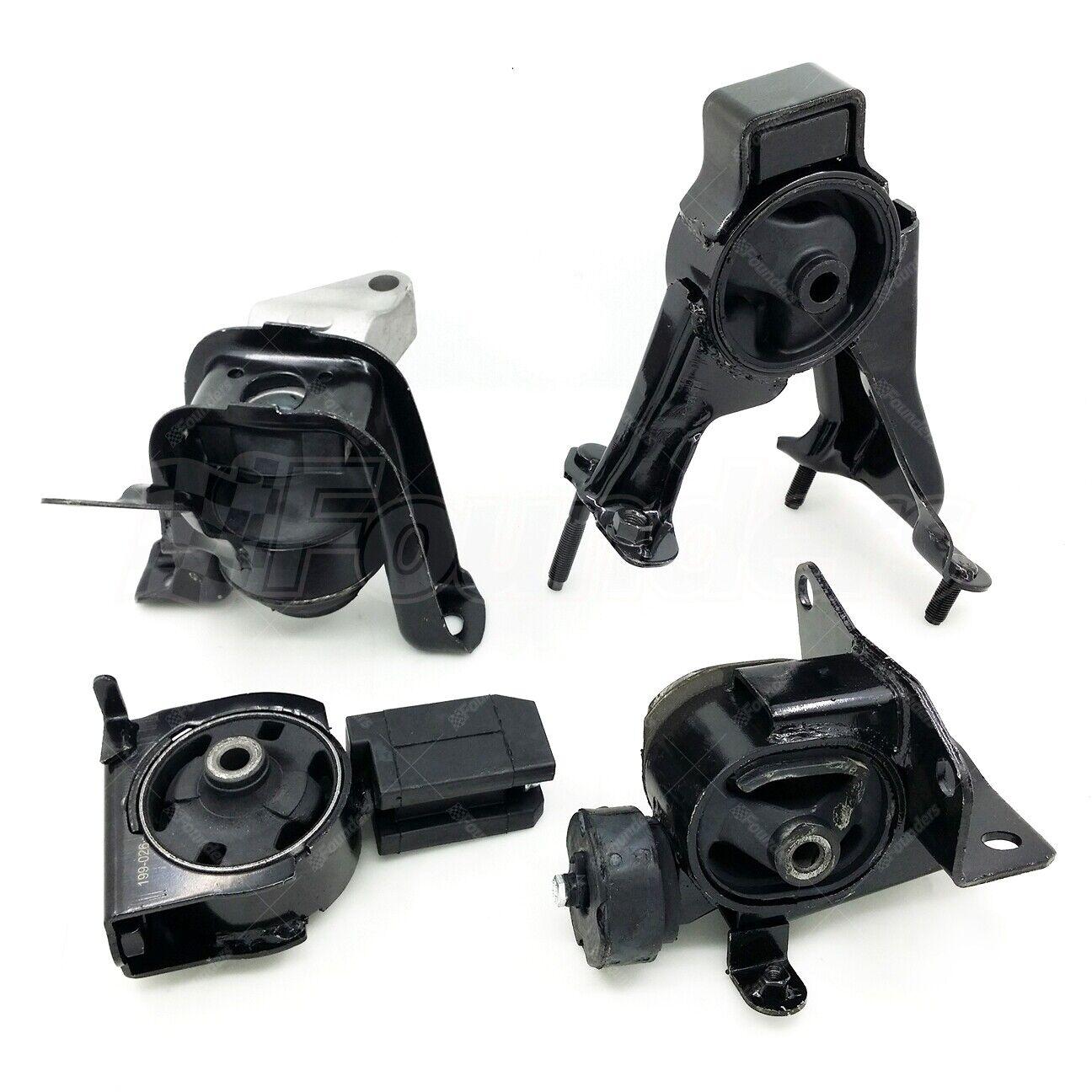 Set of 4 pcs Transmission /& Motor Mount for 03-08 Toyota Corolla 1.8L Automatic