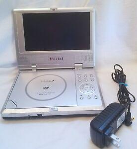 initial idm 1731 portable dvd player 7 830122002473 ebay rh ebay com Mintek Portable DVD Player Battery Pink Portable DVD Player