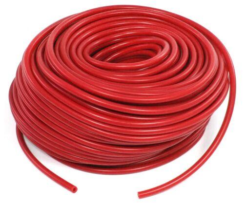 Performance Silicone Tuyau Universel Longueur 1 M Rouge 5 mm