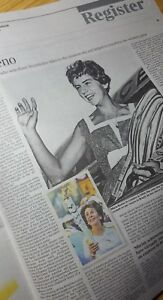 Details about MARIA BUENO  Times Obituary BRAZILIAN TENNIS STAR  UK  newspaper cutting 14 6 18