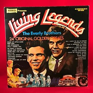 EVERLY-BROHERS-Living-Legends-1979-UK-Vinyl-LP-EXCELLENT-CONDITION-best-of-C