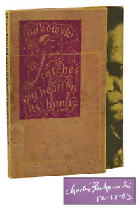 It-Catches-My-Heart-in-Its-Hands-CHARLES-BUKOWSKI-Signed-First-Edition-1st