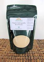 Ashwagandha Root Powder - Organic - 8 Oz (indian Ginseng) Withania Somnifera