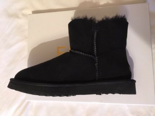 Black Woman's B Sheepskin Size Boots Elia 39 xqT8wC0C7