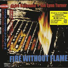 Akira Kajiyama Joe Lynn Turner Fire Without Flame Japan CD sealed