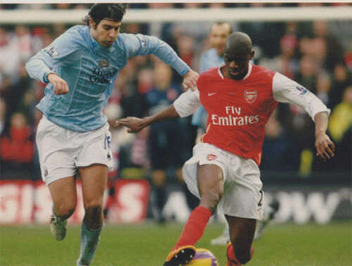 Abou Diaby 12x8 unsigned photo Arsenal