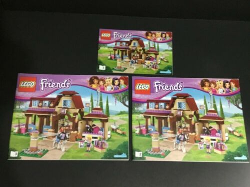 Instruction Manuals ONLY LEGO Friends 41126  Heartlake Riding Club NEW