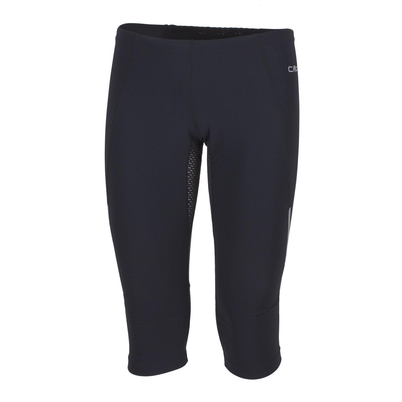 Unità CMP divertimentozione pantaloni pantaloni pantaloni sportivi neri drydivertimentoction traspirante