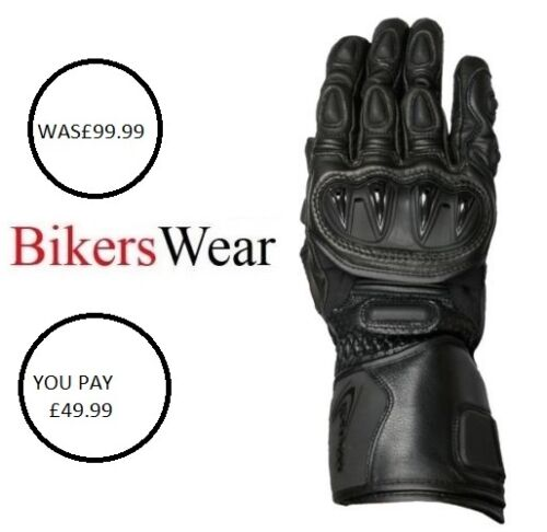 Weise Vortex sports Motorcycle kangaroo leather//Kevlar glove ladies was £99.99