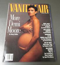 1991 Vanity Fair Magazine v.54 #8 Demi Moore VF/NM 9.0