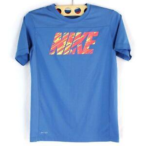 2747e9ed5ee26 NIKE DRI-FIT Retro T-shirt Jersey Women Size Large Perforated Back ...