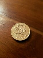2013 ONE POUND COIN £1 -  FLORAL - ENGLISH ROSE & OAK