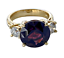 10-73-Carat-Natural-Spinel-Diamond-Engagement-Ring-18K-Gold thumbnail 5