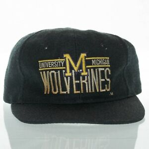 Image is loading Michigan-Wolverines-Vintage-Hat-Twill-Snapback-NCAA -University- 47d97b375a9d