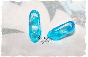 Soulier-Chaussure-Robe-En-Cadeau-Poupee-Mannequin-Barbie-Doll-Dress-Bleu