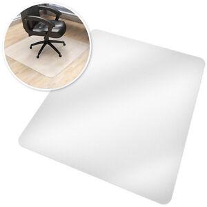 Bodenschutzmatte Bodenschutz Büro Stuhl Unterlage Matte Parkett 90x120cm B-Ware
