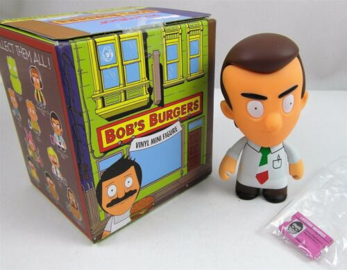 Kidrobot BOB/'S BURGERS Mini JIMMY PESTO 3 inch Vinyl Figure Blind Box NEW 1//20