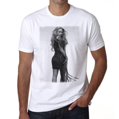 Coton blanc cadeau Mariah Carey T-shirt 2 t shirt homme Manches Courtes