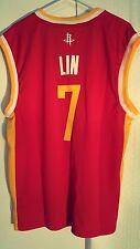 Adidas NBA Jersey Houston Rockets Jeremy Lin  Red Alt sz M