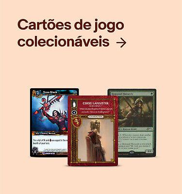 Cartões de jogo colecionáveis