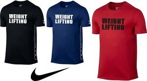 the best attitude 6515c 4430e Image is loading Men-039-s-Original-T-Shirt-Nike-WEIGHTLIFTING-
