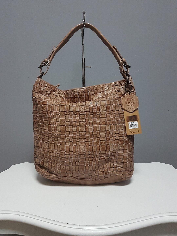Bear Design •Tasche •Tess •Tess •Tess •Flechttasche • Hazelnut • CL32444 | Neuheit  | Qualität und Quantität garantiert  | Sorgfältig ausgewählte Materialien  8852e9