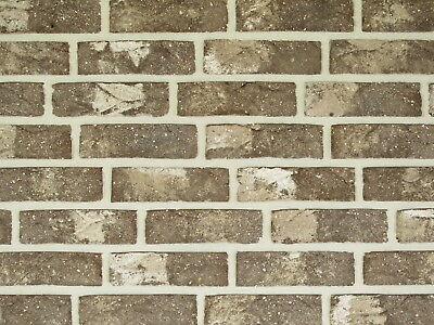 Klinker PräZise Handform-verblender Wdf Bh100 Braun Nuanciert Klinker Vormauersteine