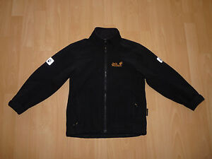 70-Jack-Wolfskin-Kids-Black-Magic-Softshell-Jacke-mit-Fleece-gefuettert-Gr-140