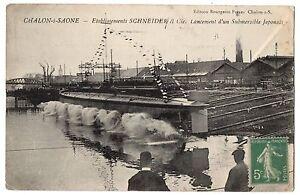 CPA-71-CHALON-SUR-SAONE-Saone-et-Loire-Etablissements-Schneider-Lancement