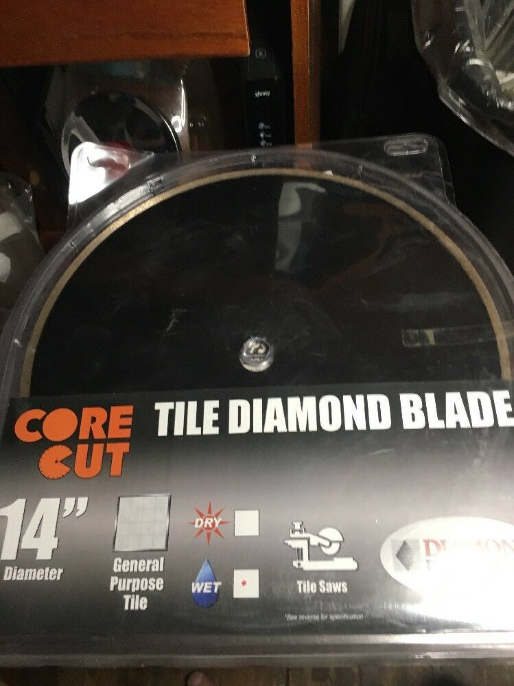 Diamond Products Core Cut   87724 14Inch by 0.080 x 1 Premium WET Tile Blade