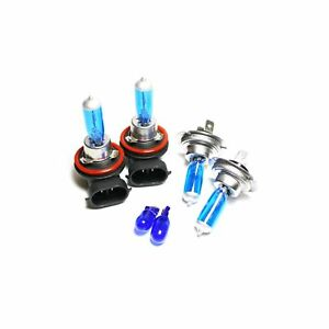 Ford Transit Connect 55w ICE Blue Xenon HID High//Low//Side Headlight Bulbs Set