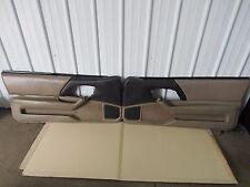 1993-2002 Camaro Z28 SS Door Panels pair Tan  Leather OEM 743