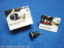 BMW e60 e61 5er USB Ladegerät NEU Adapter Zigarettenanzünder 65412166411 2166411
