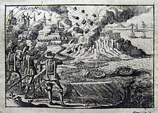 Alicante 1709 Castillo de Santa Bárbara Claude François Bidal Guerra de Sucesión