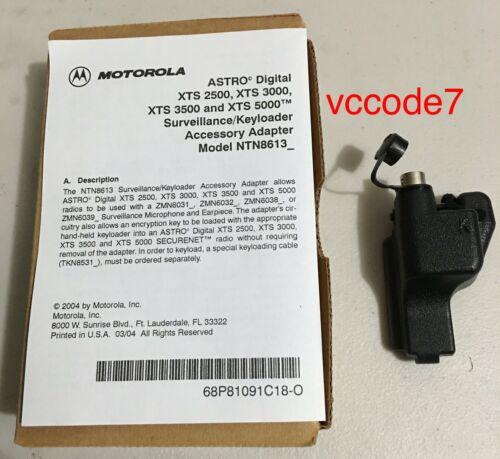 XTS3000 XTS2500 Motorola KVL Adapter Surveillance kit//keyload adaptor XTS5000