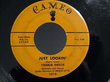 Rockabilly Teen 45 CHARLIE GRACIE Just Lookin'/Fabulous CAMEO 107