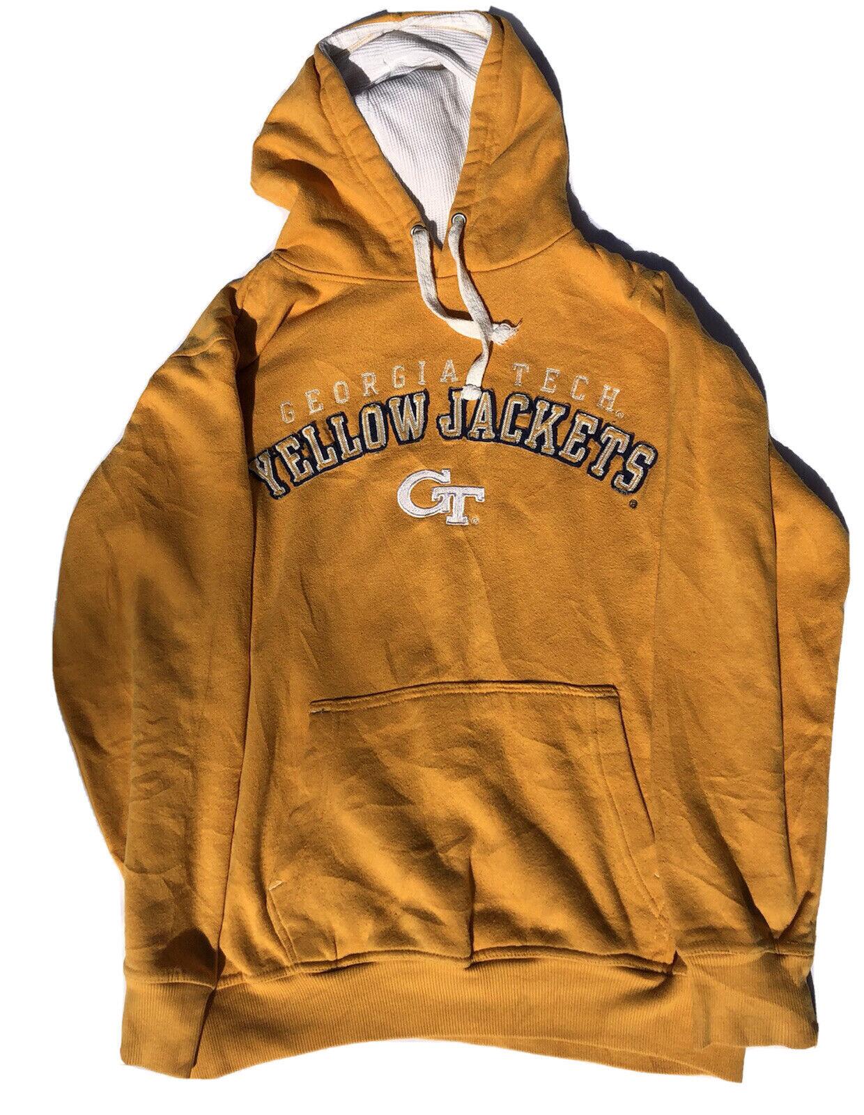 Georgia Tech Yellow Jackets vintage Sweatshirt/Hoodie Men's Size S American