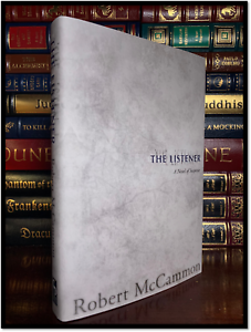 The-Listener-SIGNED-by-ROBERT-McCAMMON-Brand-New-Cemetery-Dance-Hardback