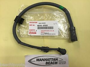 s l300 genuine toyota knock sensor wire harness 3 0l v6 avalon camry Knock Sensor Wiring Harness at bayanpartner.co