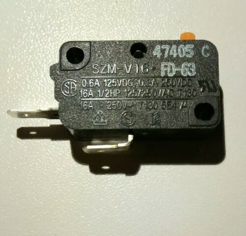 Micro rupteur Micro Switch SZM-V16-FD-63  Pour MICRO ONDES Micro Switch