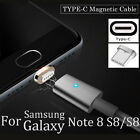 Magnetic Type-C Fast Charging Charger Cable for Samsung Galaxy Note 8 S8/S8+
